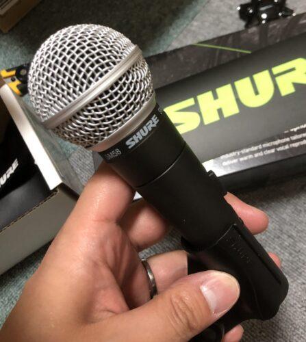 SHURE SM58 スイッチ付きマイク