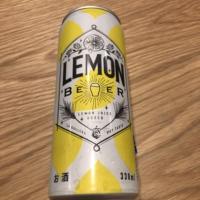 LEMONBEER(KALDIさんで購入したレモンビール)