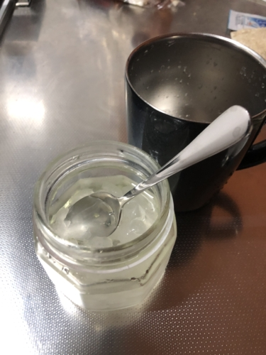 砂糖漬けレモンの炭酸割り